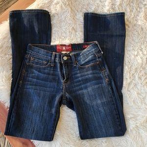 Lucky Brand Dark Wash Sofia Boot Jeans